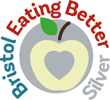 Bristol Eating Better Award Silver Logo